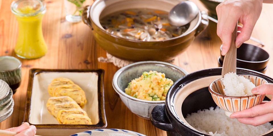 11月8日(水)久保香菜子の調理の道具を見直そう 「土鍋でもっと美味しく」