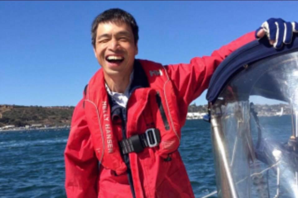 全盲のヨットマン mr.Hiro Iwamotoトークイベント「Dream waver」